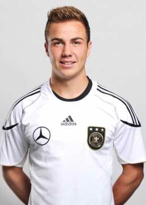 Football player Mario Gotze - age: 28
