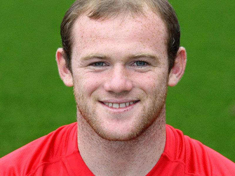 Footballer Wayne Rooney - age: 31