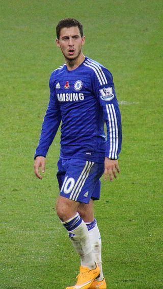 Football player Eden Hazard - age: 26