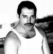 Singer-songwriter Freddie Mercury - age: 45