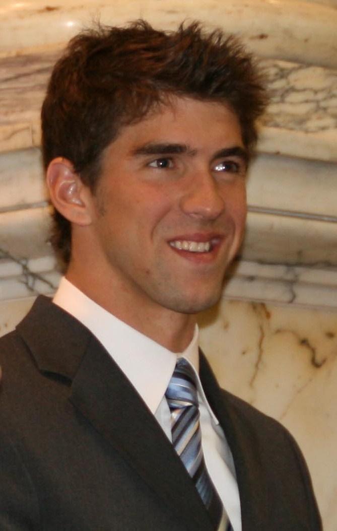 Swimmer Michael Phelps - age: 35