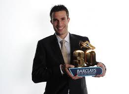 Footballer Robin Van persie - age: 33