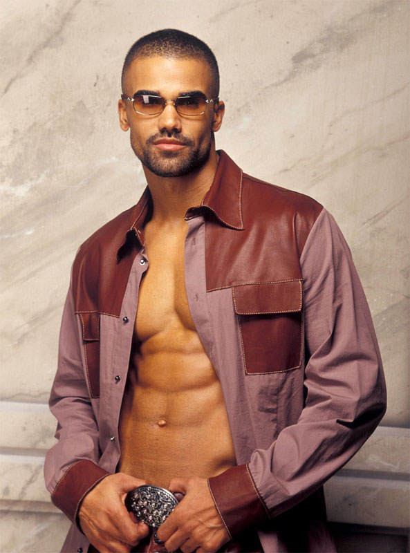 model, actor Shemar Moore - age: 50