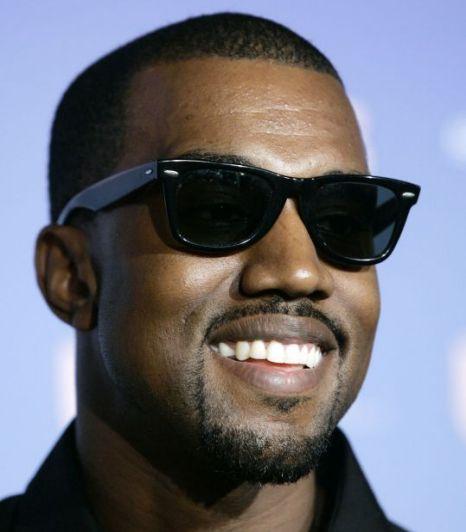 Singer Kanye West  - age: 40