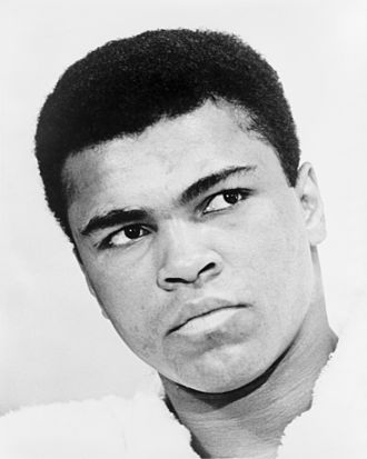 Boxer Muhammad Ali  - age: 79