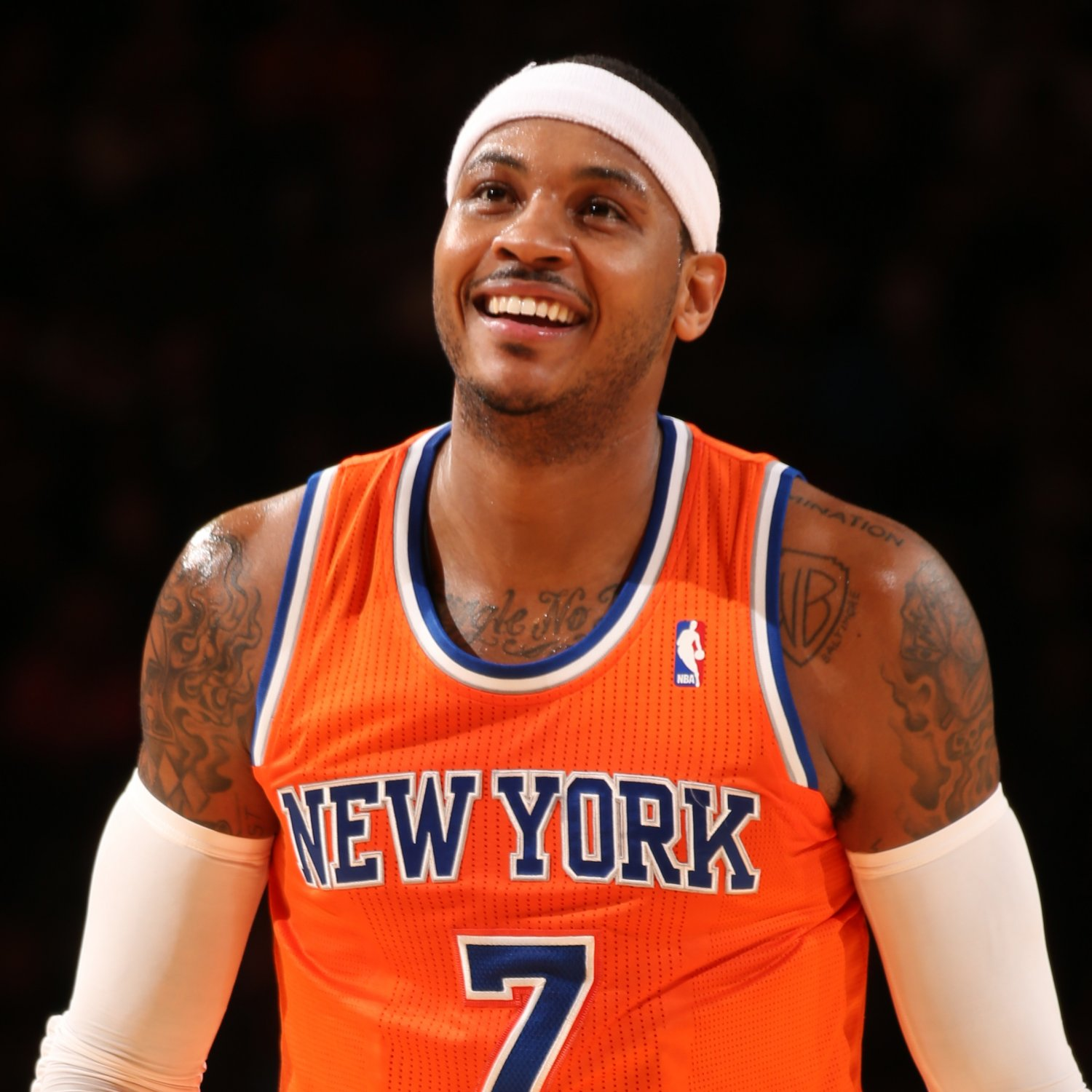 Basketball Player Carmelo Anthony - age: 33