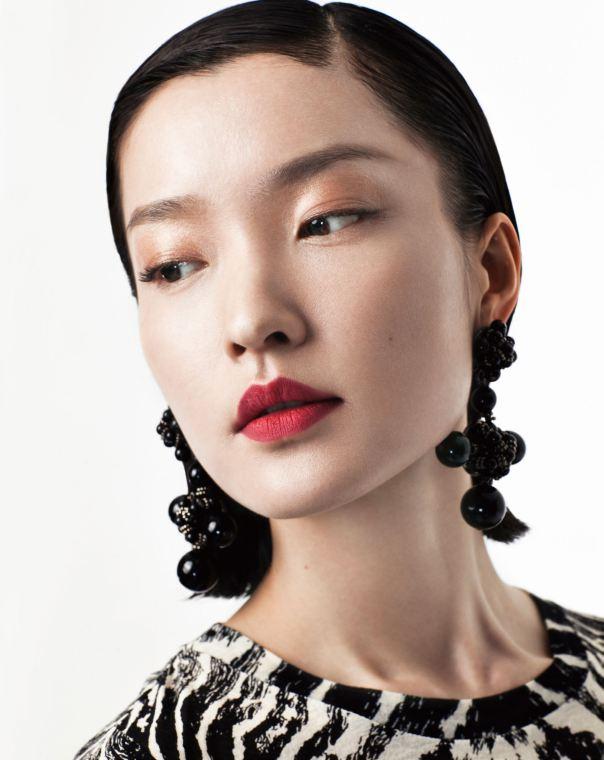 fashion model, film actress, and former ballet dancer Du Juan - age: 38