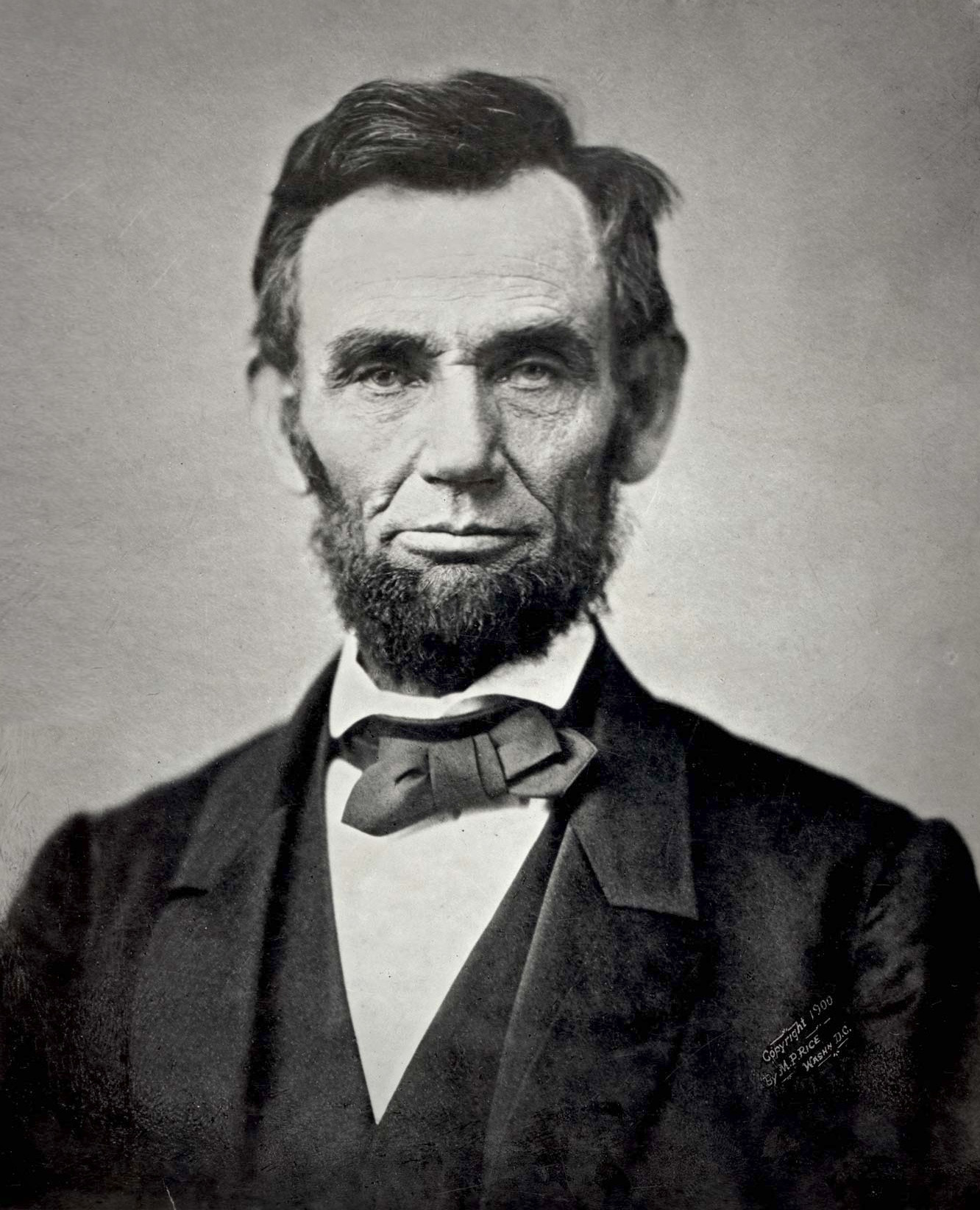 US President Abraham Lincoln - age: 56