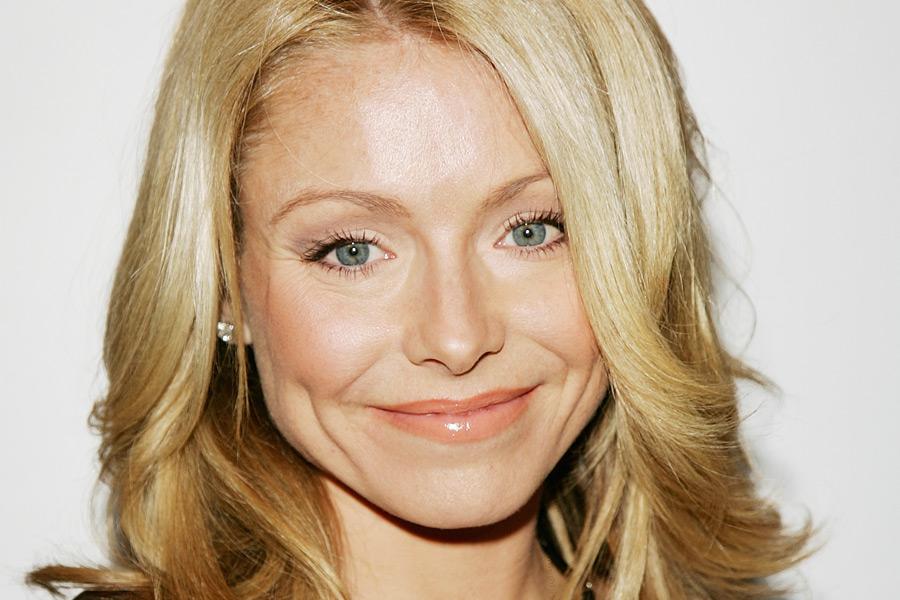 actress, television producer Kelly Ripa - age: 50