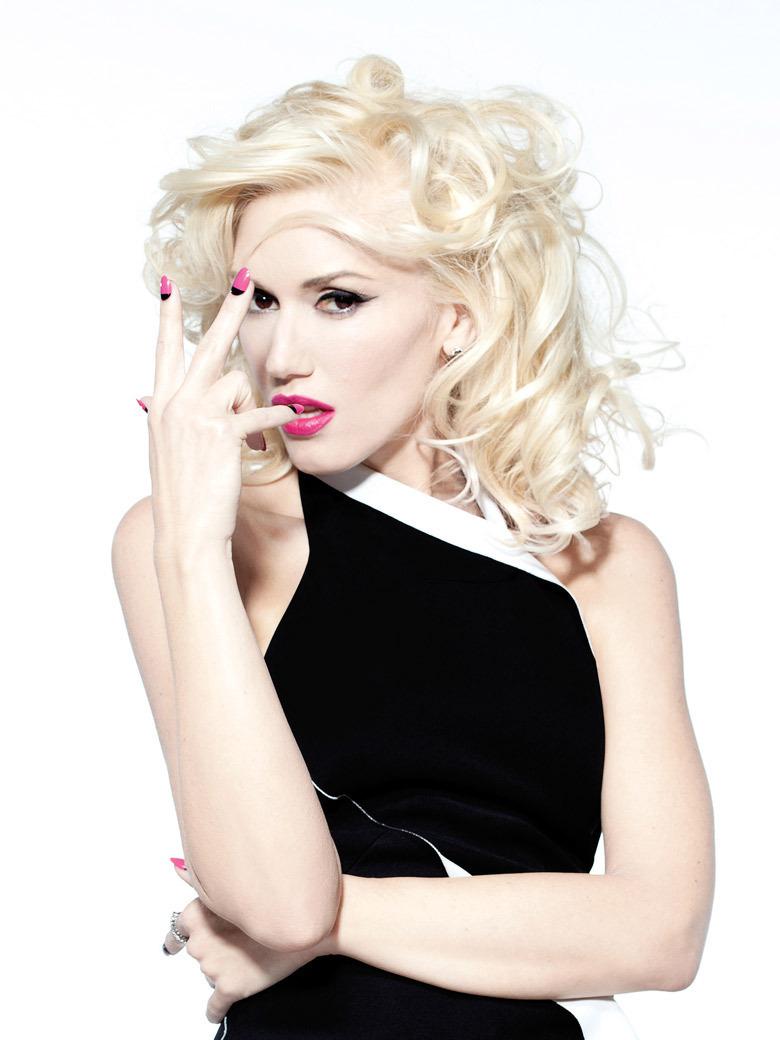 singer-song writer, fashion designer, and actress Gwen Stefani - age: 48