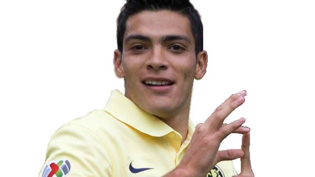Football player Raul Jimenez - age: 26