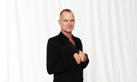 Singer-songwriter Sting - age: 69