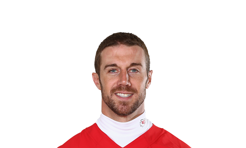 Football player Alex Smith - age: 36