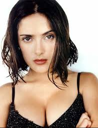 Movie actress Salma Hayek - age: 54