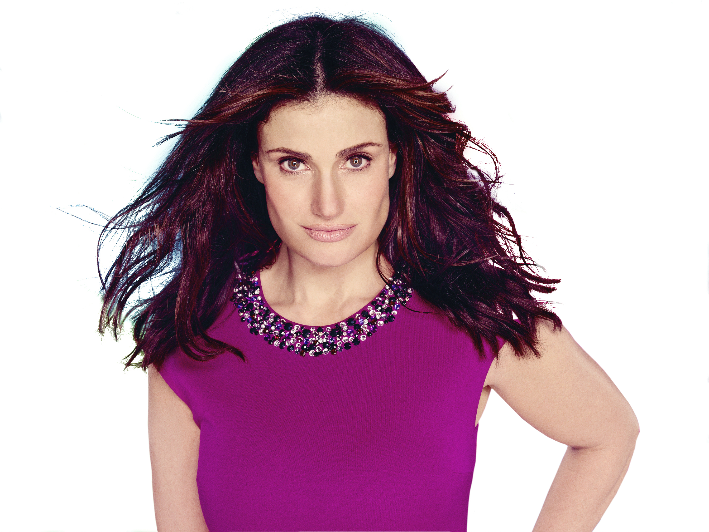 Actress Idina Menzel - age: 49