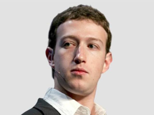 Businessman Mark Zuckerberg - age: 33