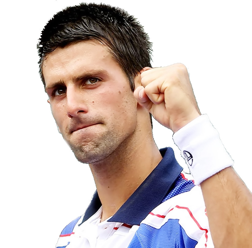 Tennis player Novak Djokovic - age: 33