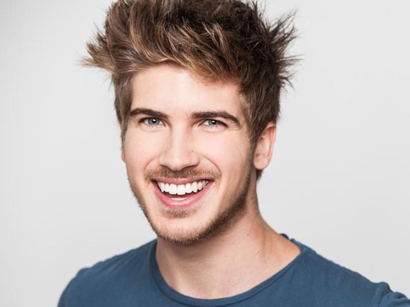 Youtube celebrity Joey Graceffa - age: 29