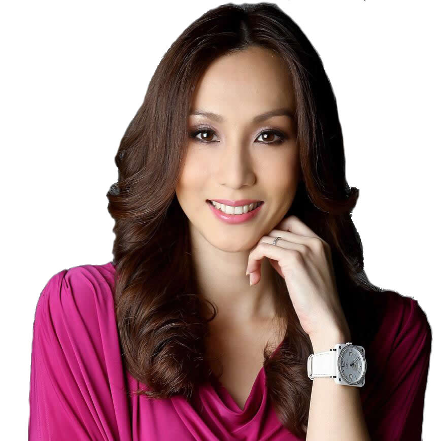 TV host Belinda Chee - age: 38