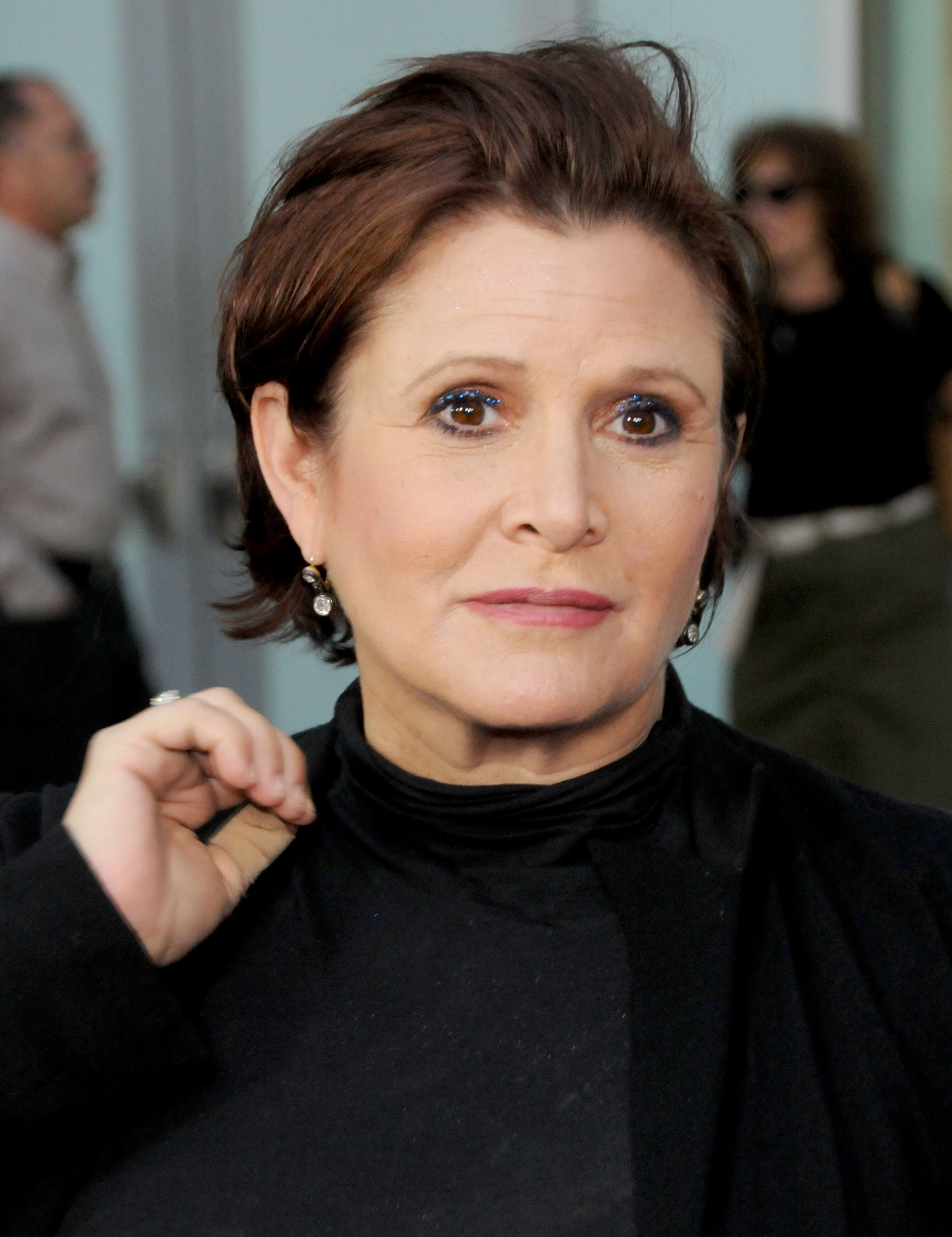 Movie actress Carrie Fisher - age: 60