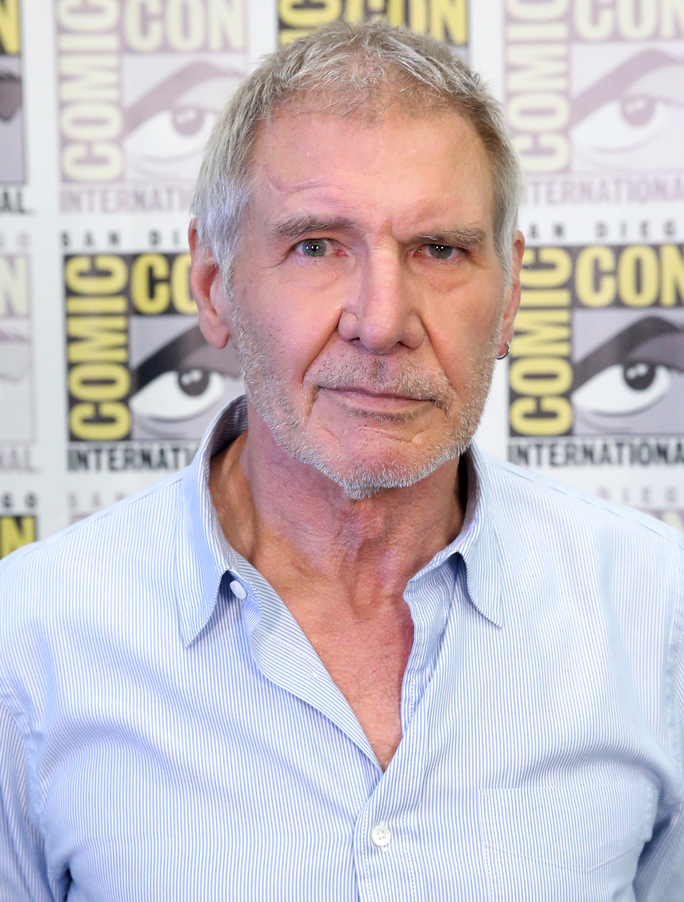 Actor Harrison Ford - age: 75