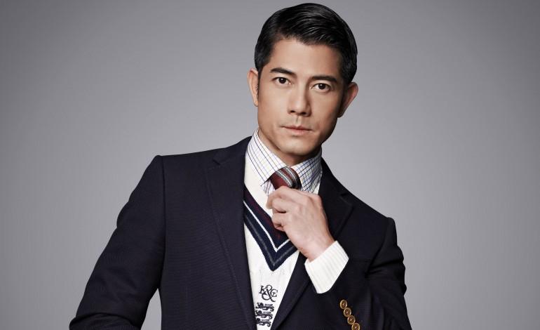 Actor Aaron Kwok - age: 55