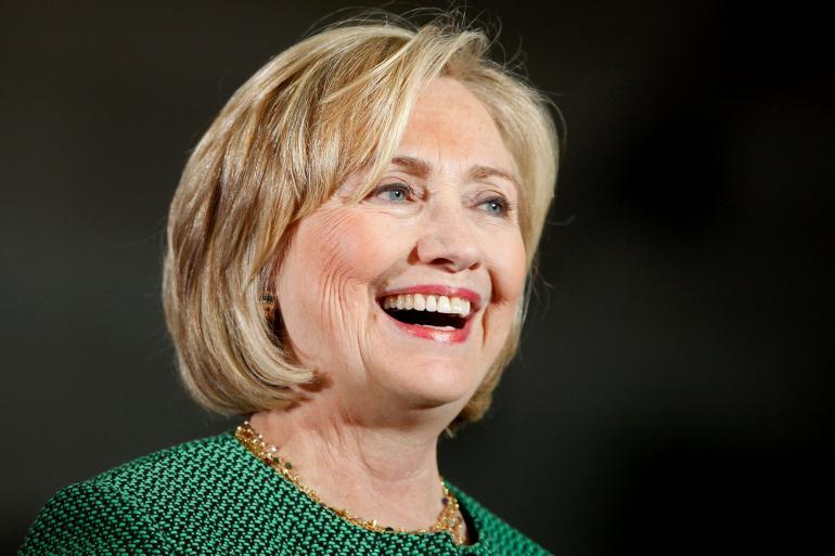 Politician Hillary Clinton - age: 73