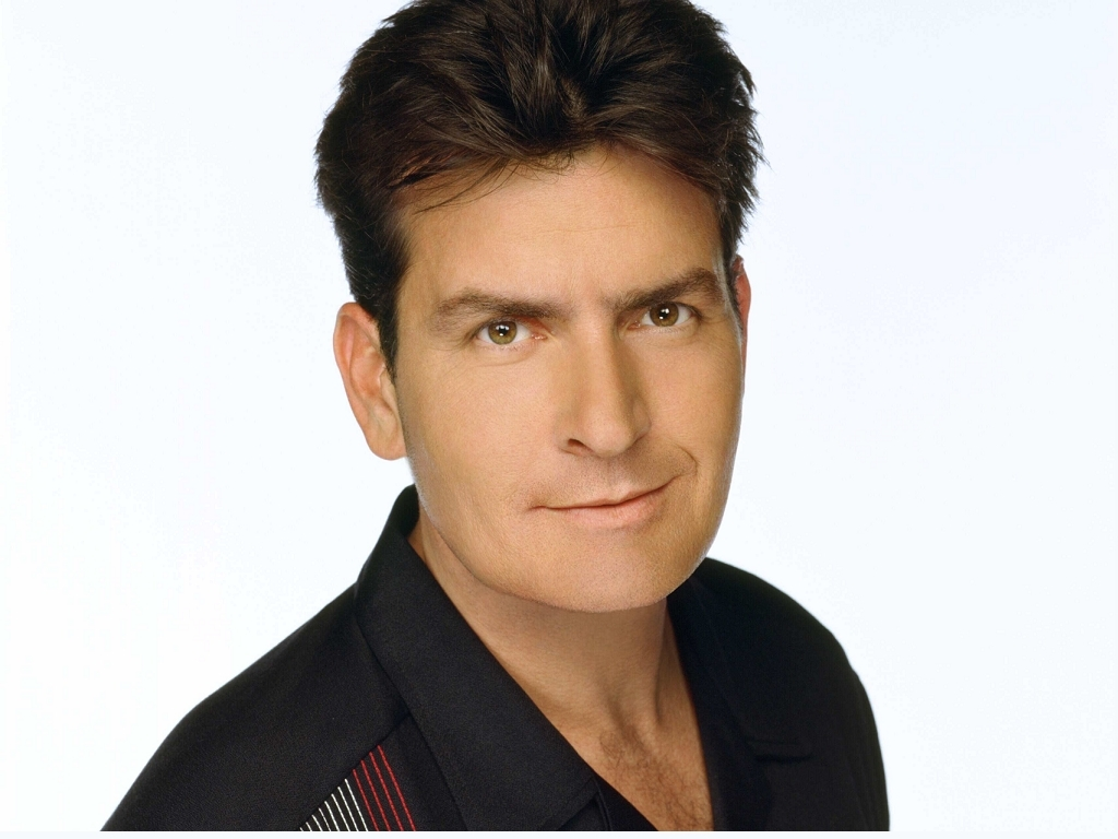 Actor Charlie Sheen - age: 55