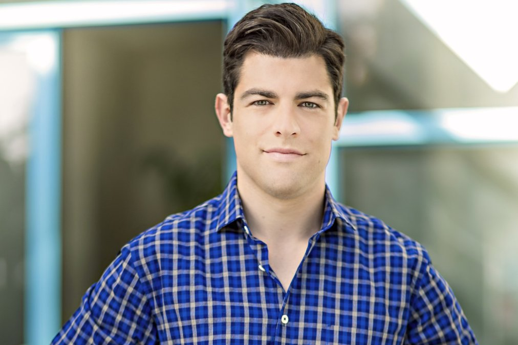 Actor Max Greenfield - age: 41