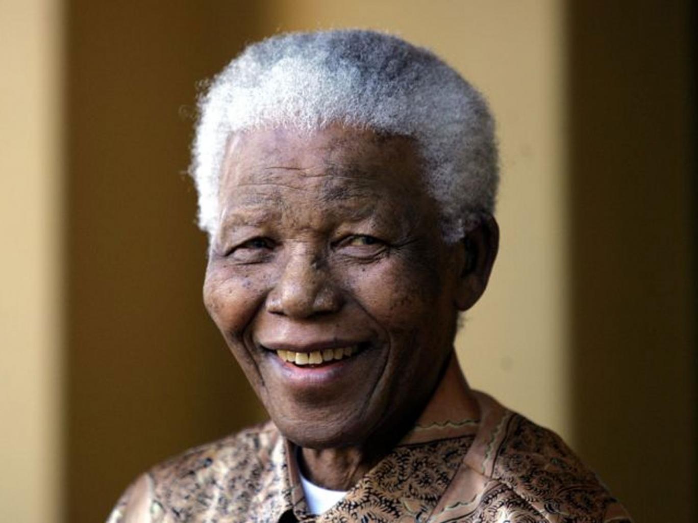 President Nelson Mandela - age: 95