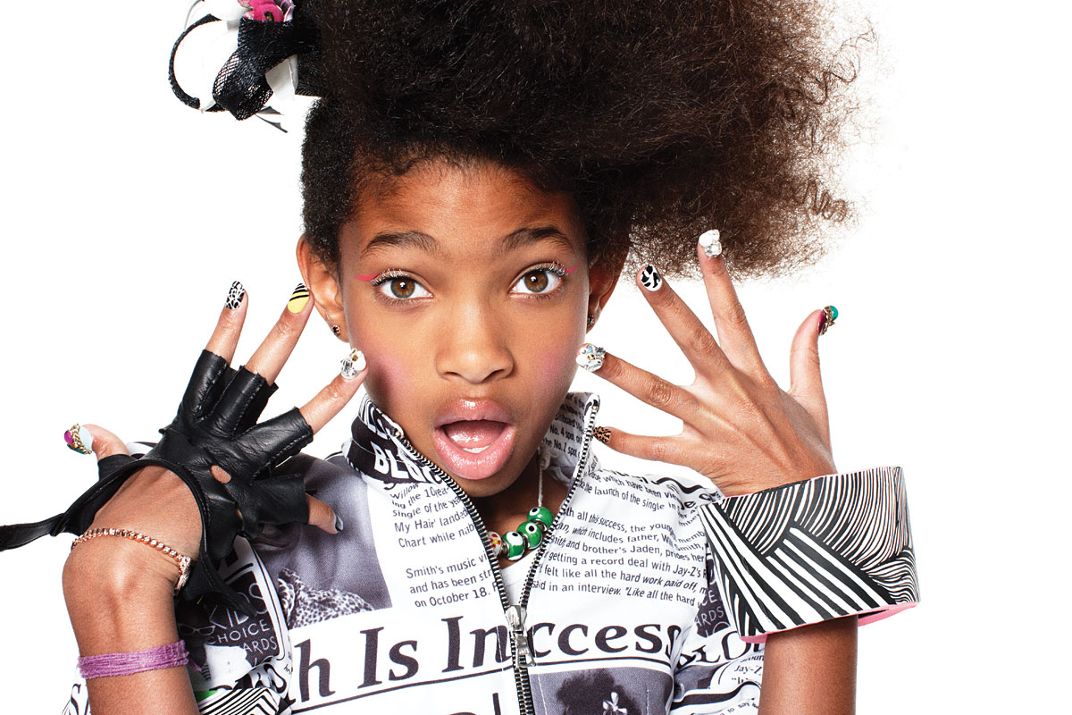 Actress Willow Smith - age: 16