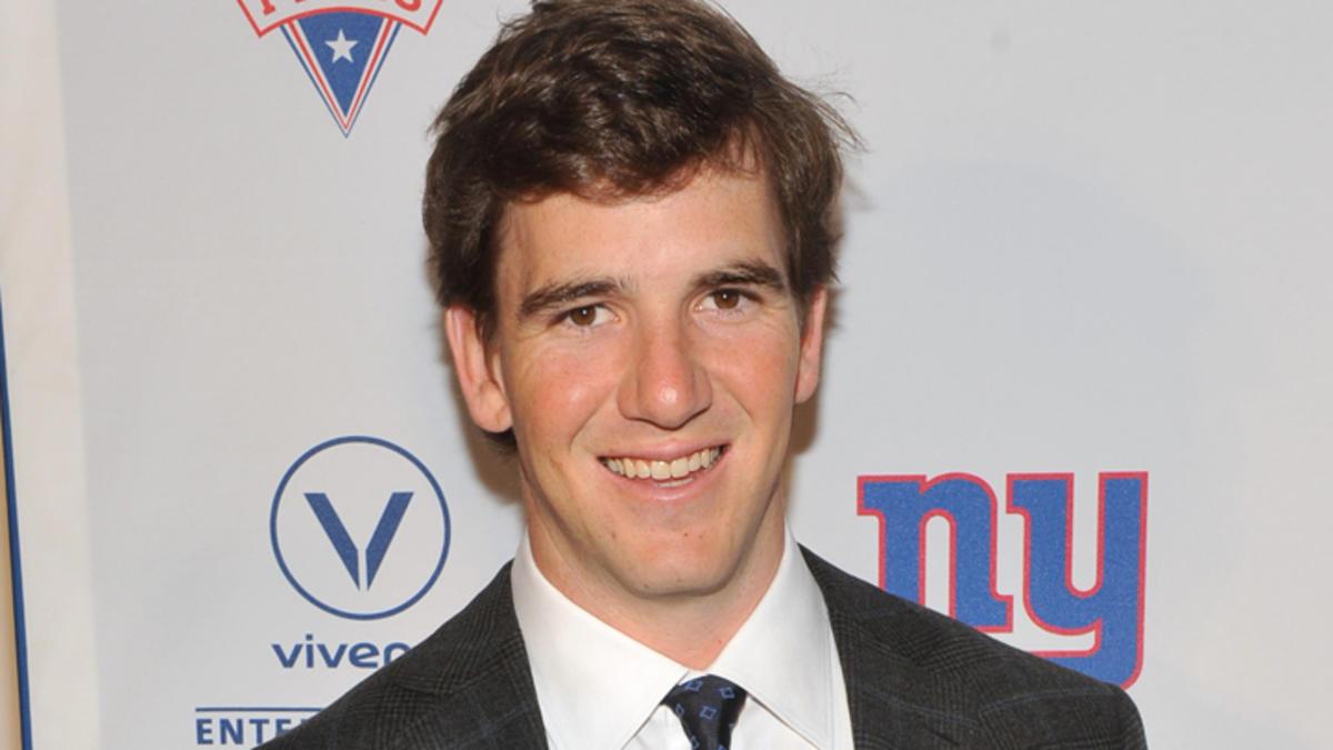 American football quarterback Eli Manning - age: 36