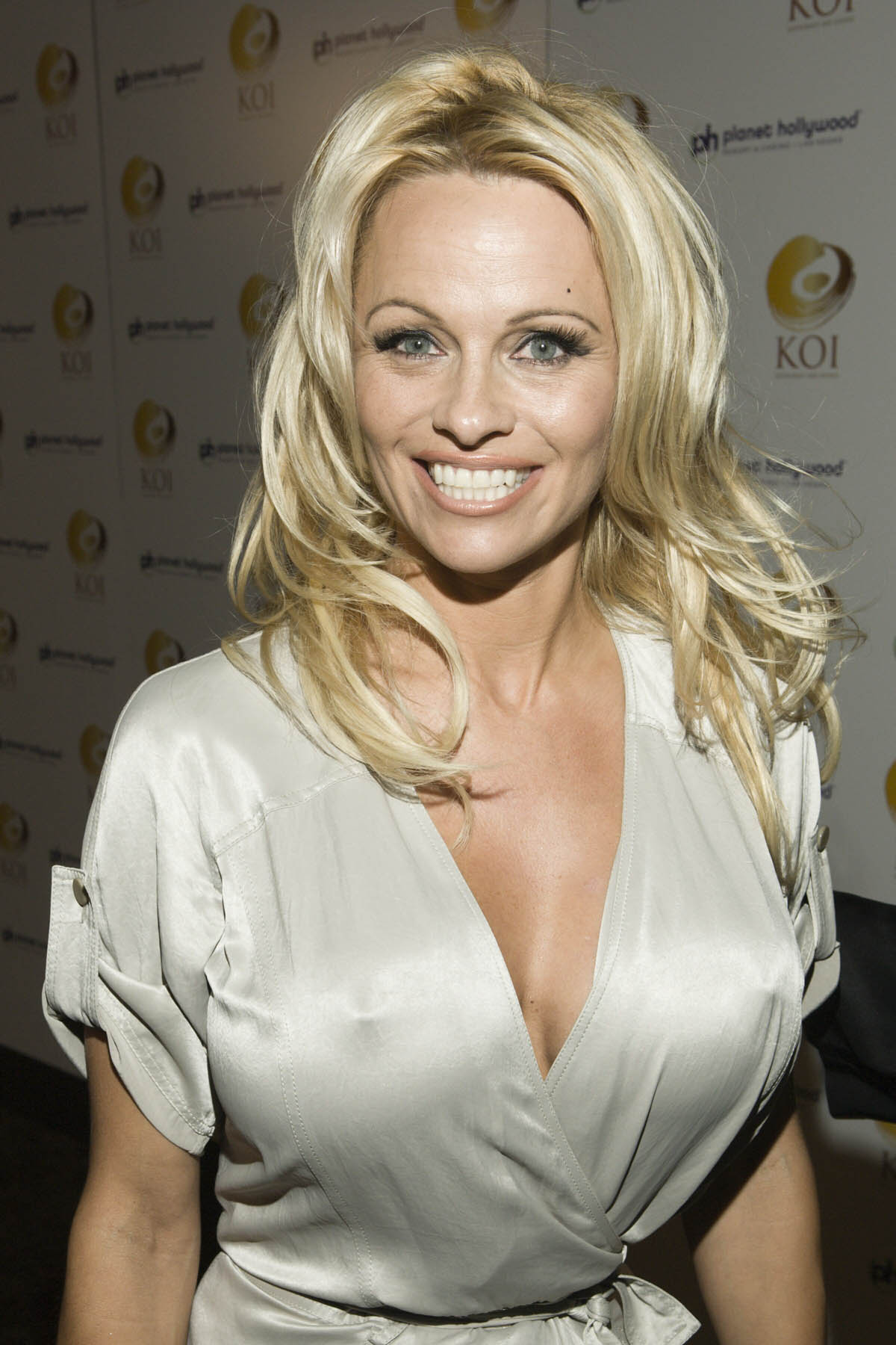 Actress Pam Anderson - age: 50