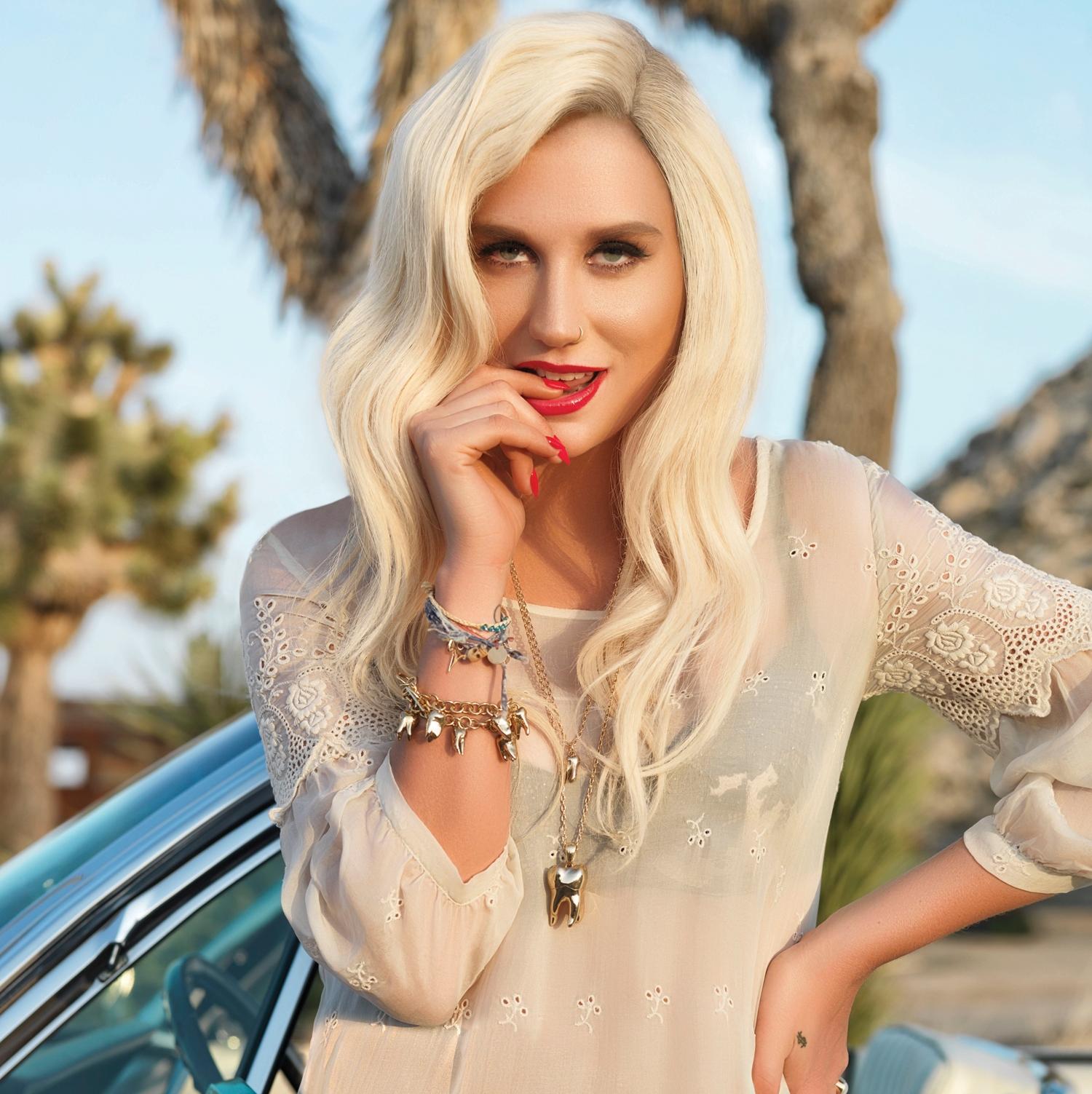 Singer-songwriter Kesha - age: 30
