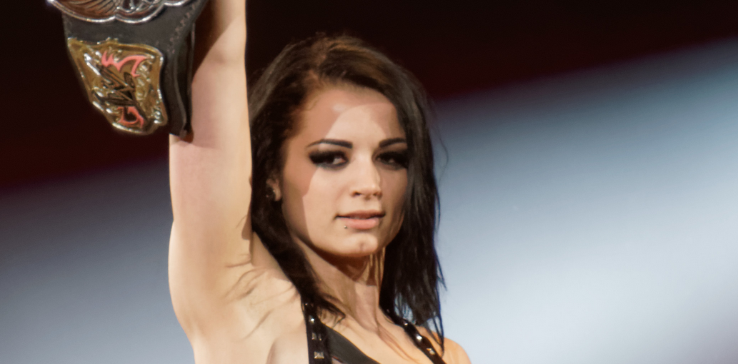 professional wrestler  Paige - age: 25