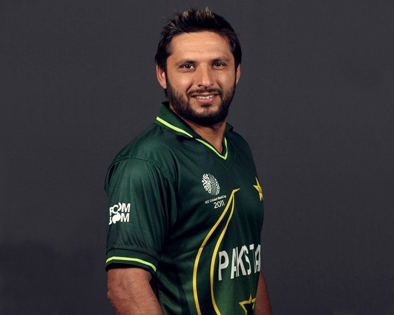Cricketer Shahid Afridi - age: 40