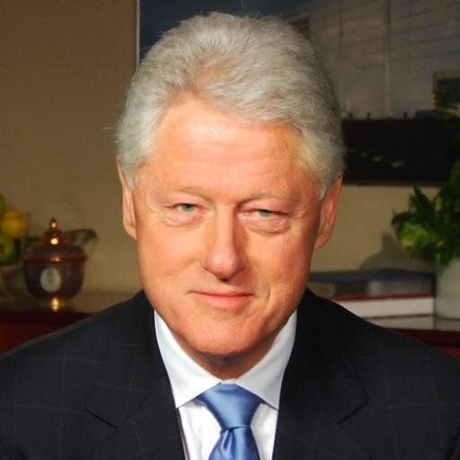 US President Bill Clinton	  - age: 71
