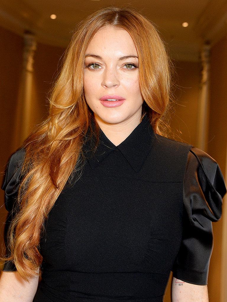 Actress Lindsay Lohan - age: 34