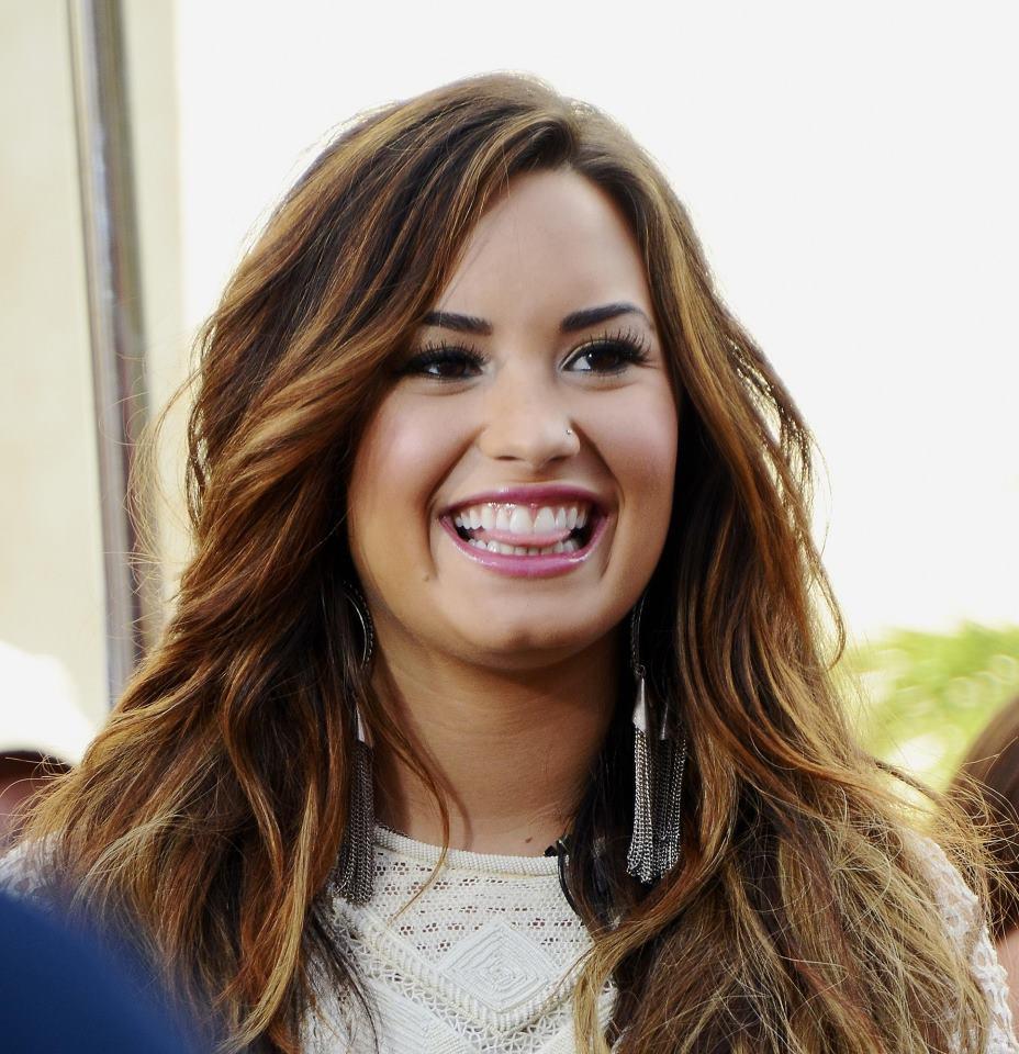 Singer Demi Lovato  - age: 28