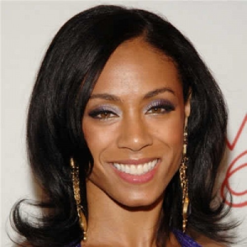 Actress Jada Pinkett Smith	  - age: 46
