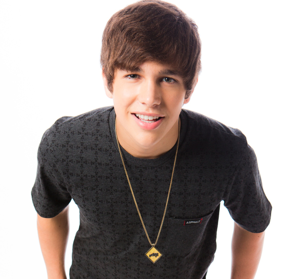 Pop Singer Austin Mahone - age: 25