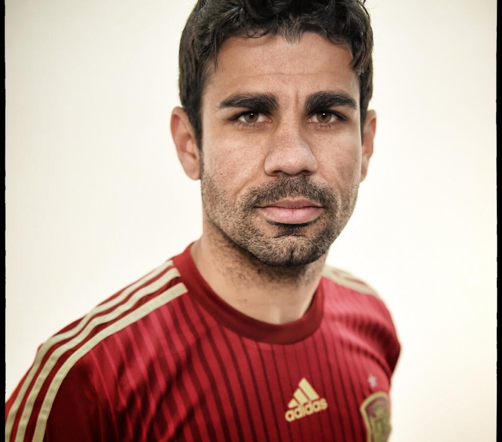 Footballer Diego Costa - age: 32
