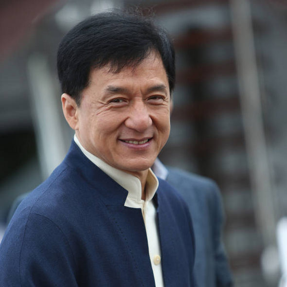 Actor Jackie Chan - age: 63