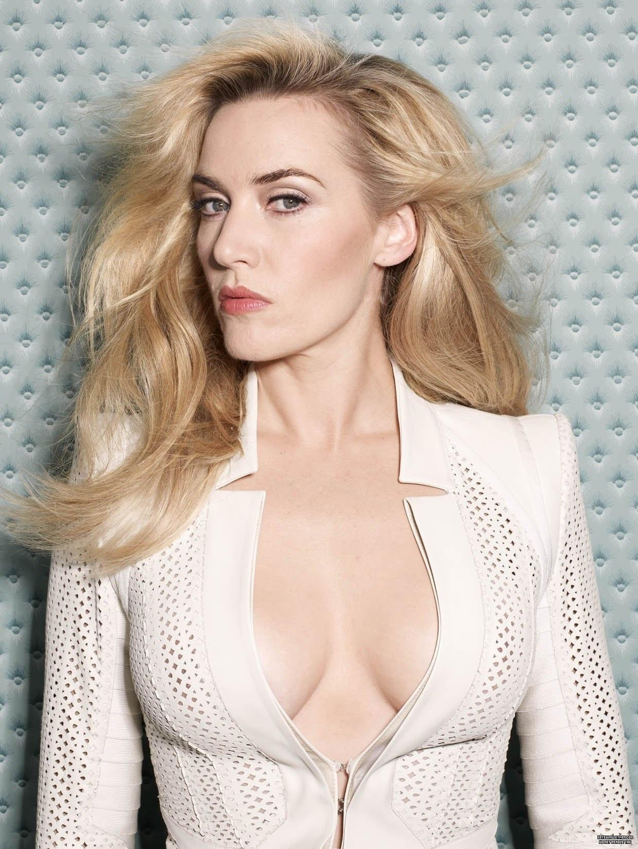 Movie actress Kate Winslet - age: 45