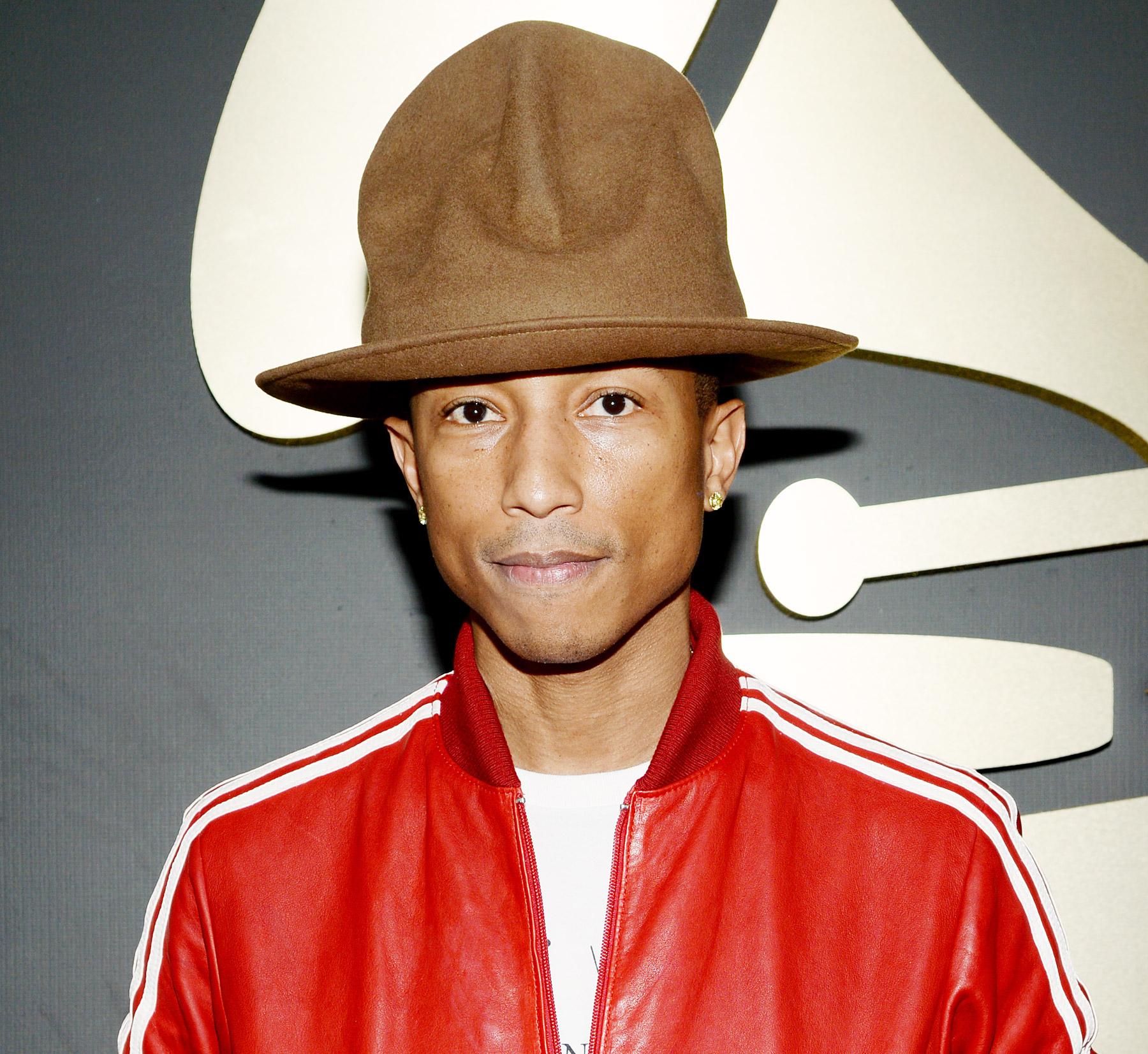Singer Pharrell Williams  - age: 44