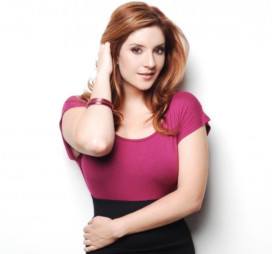 actress, singer, model, dancer Anneliese Van der Pol - age: 37