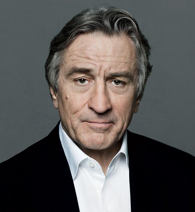 Actor, Producer Robert De Niro - age: 73
