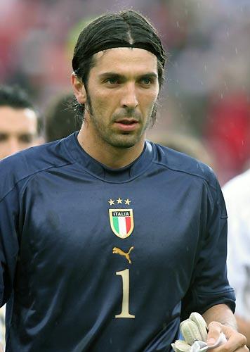 Soccer Player Gianluigi Buffon - age: 39