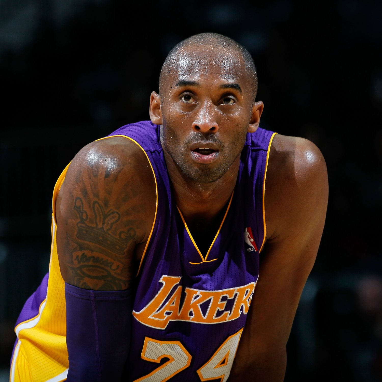 Basketball Player Kobe Bryant - age: 42