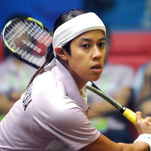 Squash player Nicol David - age: 33